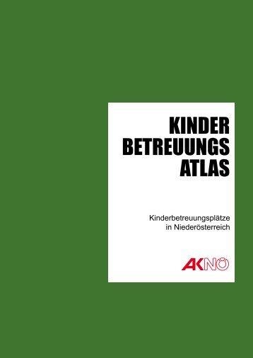 Zum AK-NÖ-Kinderbetreuungsatlas (Detail-Bericht) - Gemeinde Berg