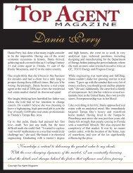 Dania Perry - Top Agent Magazine