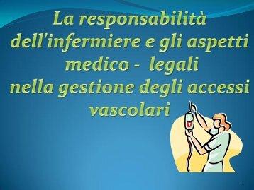 8) Responsabilità del'infermiere ed aspetti medico - Azienda ...