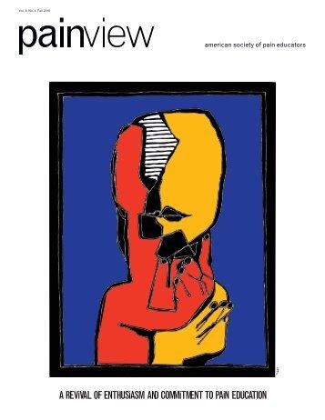 american society of pain educators