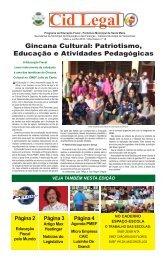 Gincana Cultural: Patriotismo, Educação e Atividades Pedagógicas
