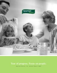 2005 Annual Report - SPTN   Spartan Stores News - Investors ...