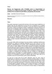 """Artículo """"Efectos del Reglamento 1774/2002 sobre la ... - Fapas"""