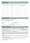 Exhibitor Hotel Reservation Form - Page 2