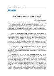 Instrucciones para matar a papá - Fernando Butazzoni