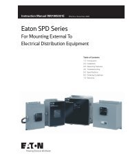 Eaton SPD Series For Mounting External To ... - of downloads