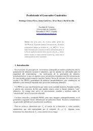 Prediciendo el Generador Cuadrático - Universidad de Cantabria