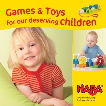 Haba Catalogue - Baby & Kids Magazine