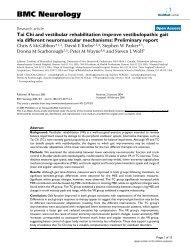 Tai Chi and vestibular rehabilitation improve vestibulopathic gait via ...