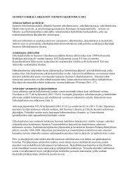 Toimintakertomus 2012 - Urheilumuseo