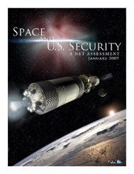 Space and U.S. Security: A Net Assessment - Institute for Foreign ...