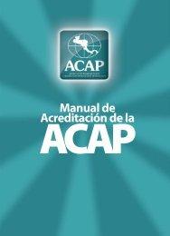 Manual de Acreditación (ACAP) - Universidad Tecnológica de ...