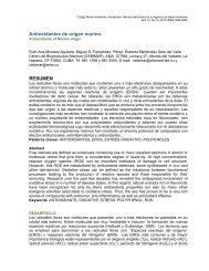 Antioxidantes de origen marino - Cub@: Medio Ambiente y Desarrollo