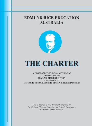 Edmund Rice Education - The Charter - Waverley College