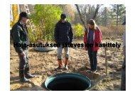 Haja-asutuksen jätevedet ja YSL