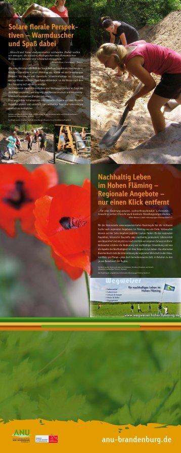 Leitbild 2020 der Gemeinde Petershagen / Eggersdorf