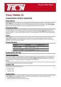 Structural Repair Data Pack Download - Triton Chemicals - Page 5