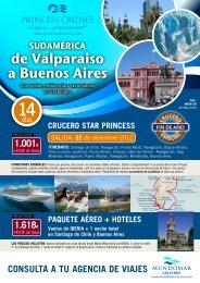 de Valparaiso a Buenos aires - Viajes-Besaya.Com