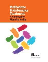Methadone Maintenance Treatment: A Community Planning Guide
