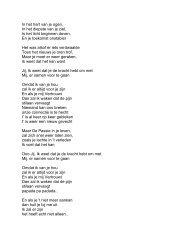 In het hart van je ogen, In het diepste van je ziel, Is het licht ... - Radio 2