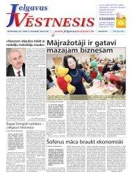 2011.gada 15.decembris Nr.49(234) - Jelgavas Vēstnesis