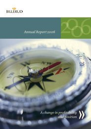 Annual Report 2006 - Billerud AB