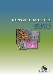 rapport d'activités - Biogenouest