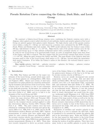arXiv:0811.0860v1 [astro-ph] 6 Nov 2008 - Institute of Astronomy
