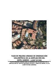 plan de mejora urbana de ordenación volumétrica de la ampliación ...