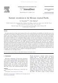 Summer circulation in the Mexican tropical Pacific - Instituto de ... - Page 2