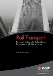 Rail Transport - World Bank