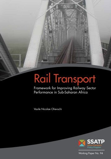 Rail Transport - World Bank