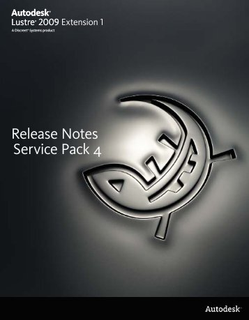 Release Notes Service Pack 4 - Autodesk