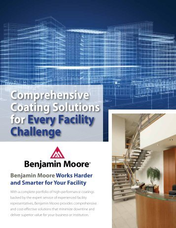 to view this brochure from Benjamin Moore & Co. - NFMT