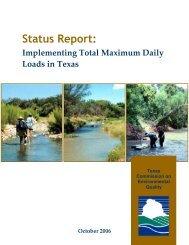 Status Report: Implementing Total Maximum Daily Loads in Texas ...