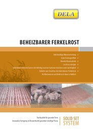 BEHEIZBARER FERKELROST SYSTEM - dela polymerbeton