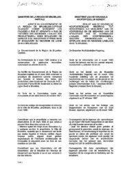 ministerede la region de bruxelles - Monumenten & Landschappen ...