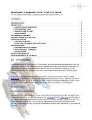 starcraft® ii barcraft event strategy guide - Blizzard Entertainment