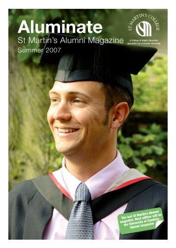 Aluminate - Summer 2007 - University of Cumbria