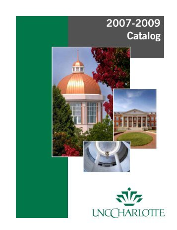 2007-2009 Undergraduate Catalog - University Catalogs