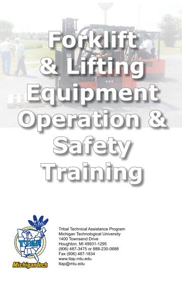 Forklift & Lifting Equipment Operation & Safety Training