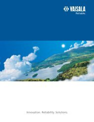 Vaisala general brochure (pdf, 857 KB)
