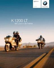 Katalog K 1200 LT (PDF, 4,3 MB) - BMW Motorrad Österreich