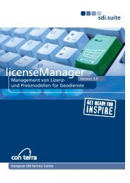 license.manager - con terra GmbH