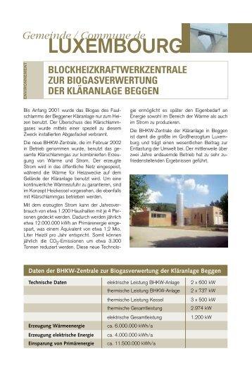 LUXEMBOURG - Klima-Bündnis Lëtzebuerg