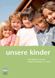 Unsere Kinder - Eltern-Ratgeber zur gesunden kindlichen Entwicklung