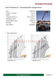 Datablad - Byggesystemer