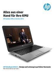 HP Golden Offers - niederer electronic AG