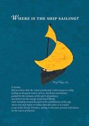 Where is the ship sailing? - International Sufi Movement USA