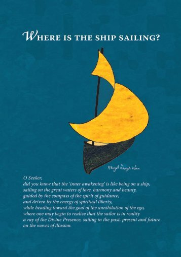 Where is the ship sailing? - International Sufi Movement USA